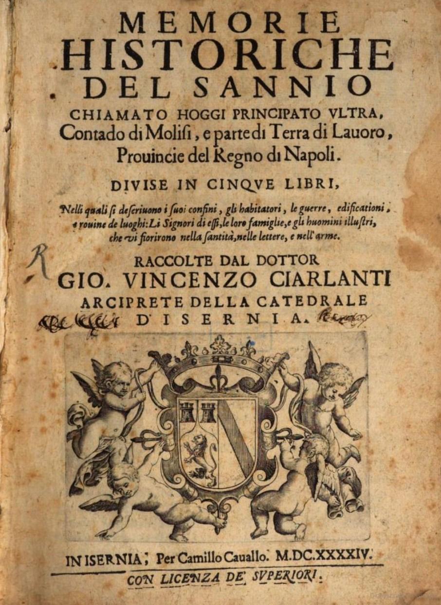 Il terremoto del 5 dicembre del 1456 nelle Memorie Historiche del Sannio