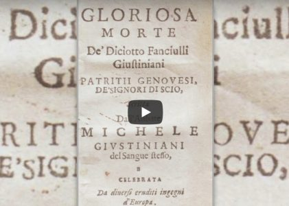 Contributi per la storia di Avellino e dell'Irpinia – Intervento di Adelino Di Marino