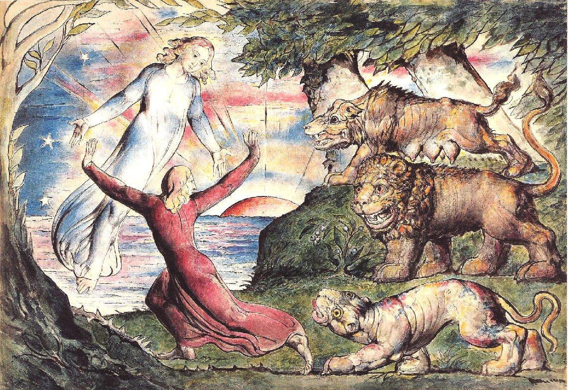 Divina Commedia – William Blake