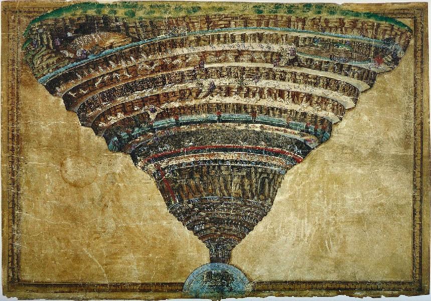 Divina Commedia-Sandro Botticelli